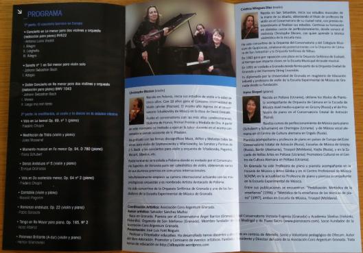 concierto 22.I.2014 programa foto